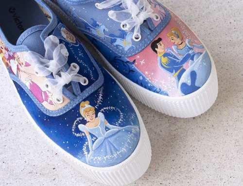 Zapatillas inspiradas en Disney