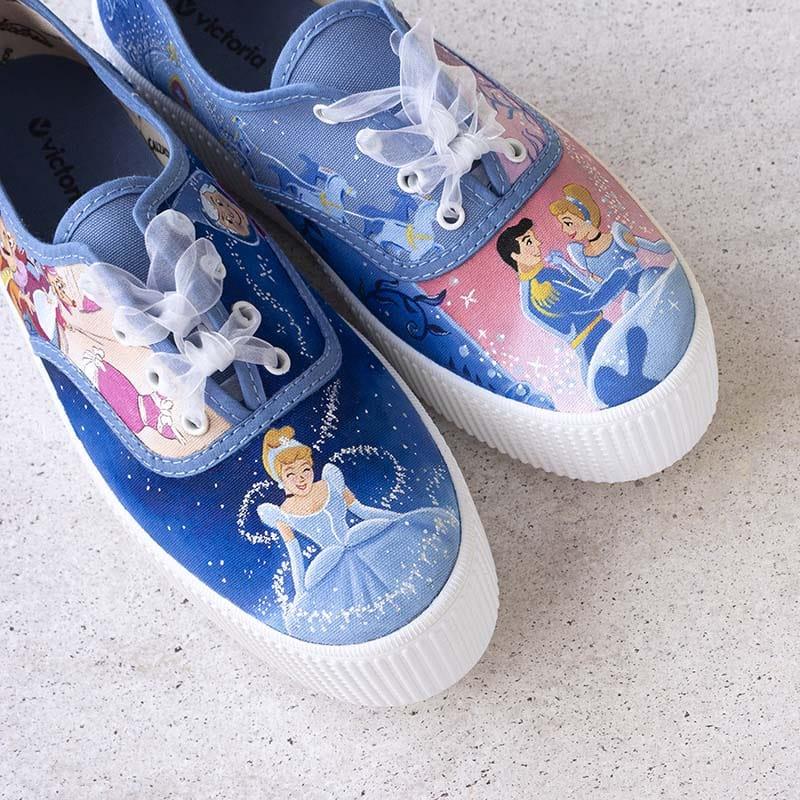 Zapatillas Disney _ Cenicienta _ Converse Personalizadas _ Lápiz creativo