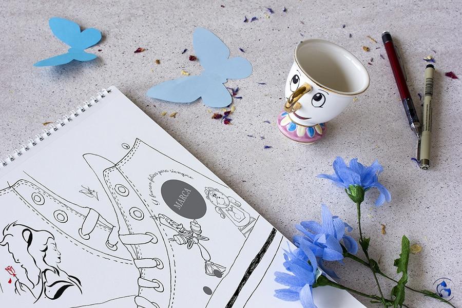 Zapatillas Disney _ Diseños por Lápiz creativo