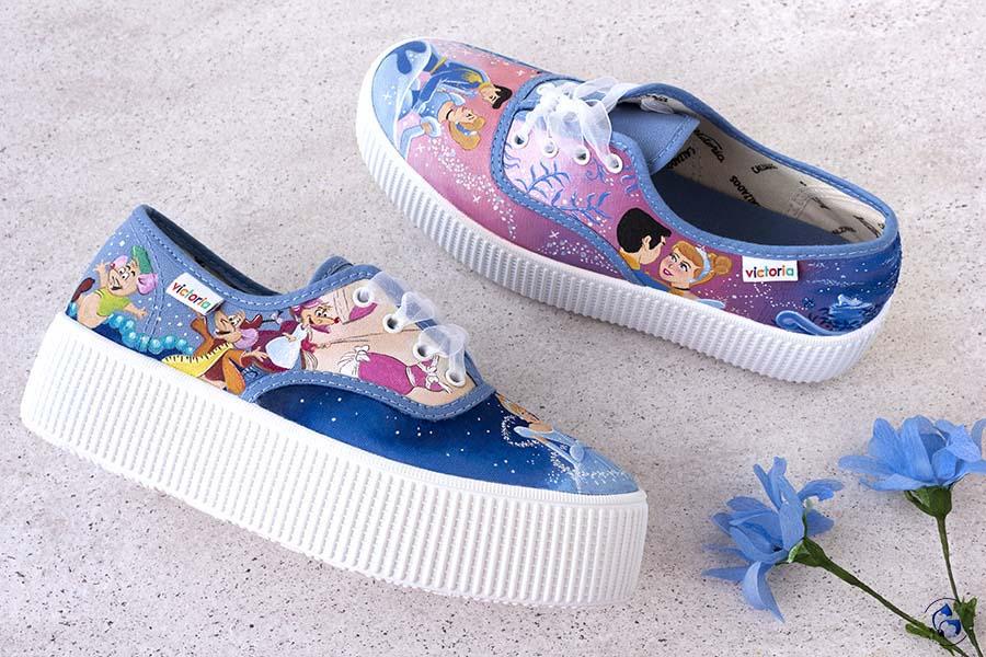 Zapatillas Personalizadas Cenicienta _ LapizCreativo