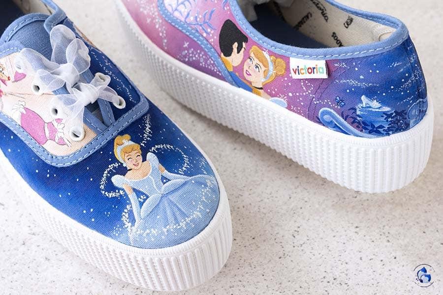 Zapatillas Personalizadas _ Zapatillas Disney _ Zapatillas Cenicienta _ Converse Personalizadas _ LapizCreativo