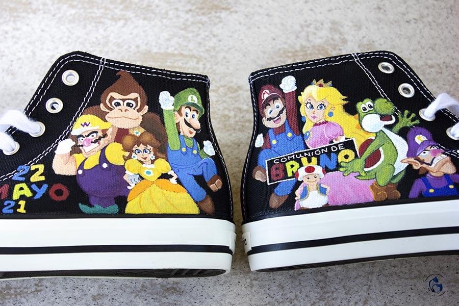Zapatillas de Comunion_ Niños de comunion _ SuperMario
