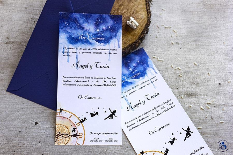 Peter Pan wedding _ Invitaciones disney